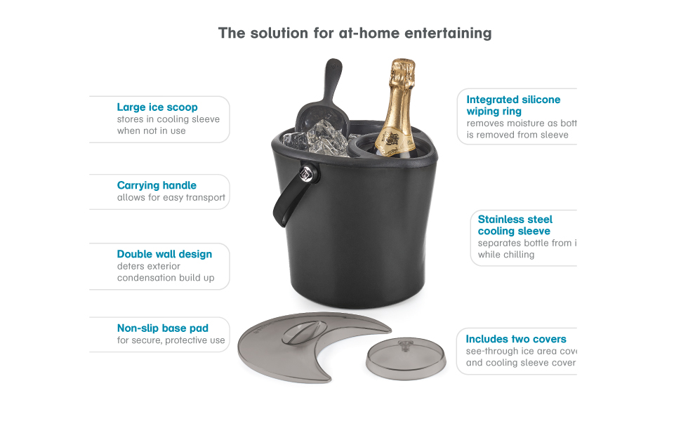 Polder Chill Station the solution for at-home entertaining
