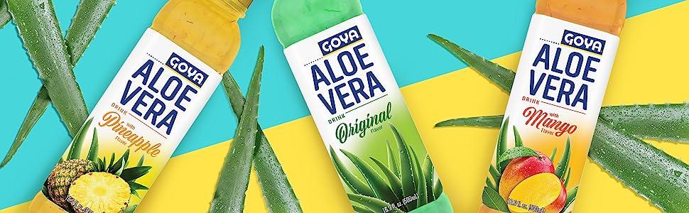 Aloe Vera Drink Water Original Pineapple mango