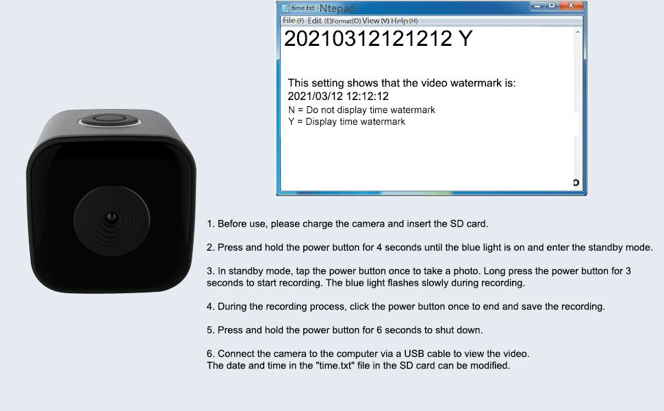 micro Security Surveillance Camera