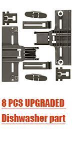 8 PCS UPGRADED Dishwasher part