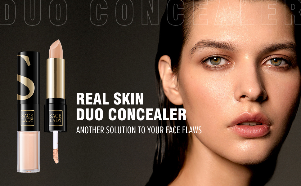 SACE LADY FULL COVERAGE LIQUID CONCEALER CREAM COVERS EYE CIRCLES FACE FLAWS LONG LASTING