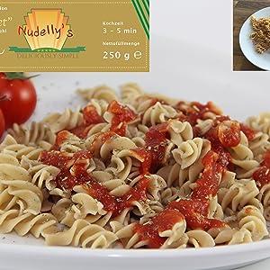 Nudellsy's Millet Vegane und Glutenfreie Nudeln bzw. Pasta