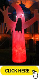 8 Feet Tall Halloween Inflatable Ghosts