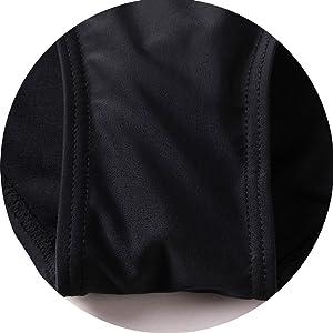 beautyin women one piece swimwear black lap swimming