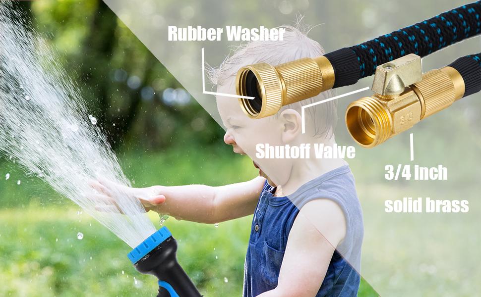 water hose usage