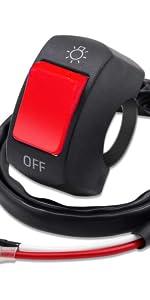 motorcycle toggle on off switch handlebar botton switch
