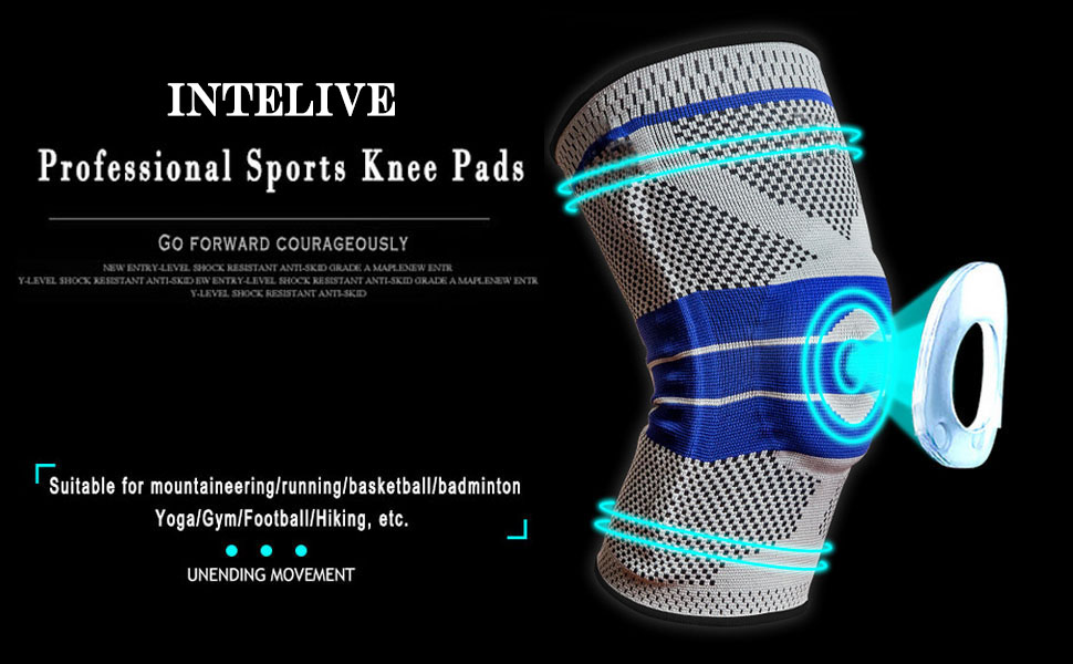 INTELIVE professional sports knee pads