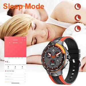 fitness tracker with sleep mode