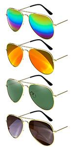 4 color sunglasses