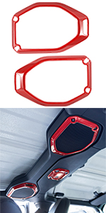 JL top roof speaker cover