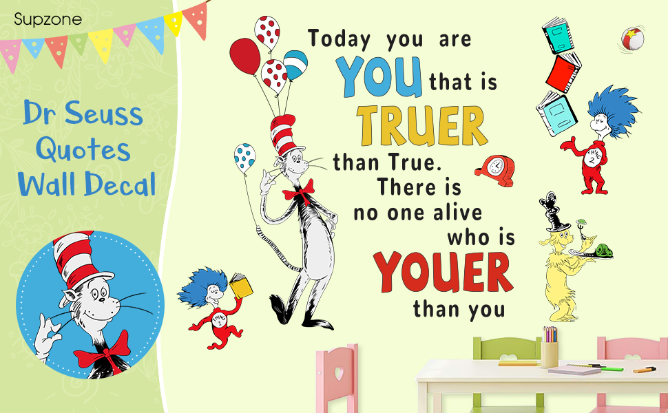 Dr Seuss Wall Stickers
