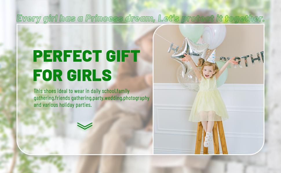 baby girls sweet cute elegant white Mary Jane flat princess shoes