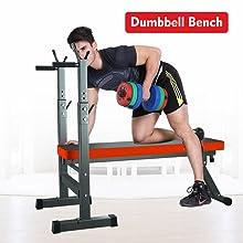 dumbbell bench