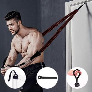 Strength Training Equipment With Door Anchor