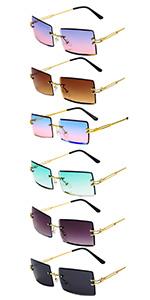 6-color sunglasses