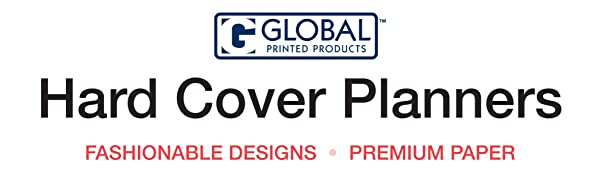 Global Printed Products – Hard Cover Fashion Planners