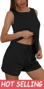 Sleeveless Shorts Loungewear