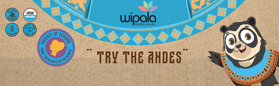 kids snacks fruity bars wipala andean bear banner try the andes ecuador products