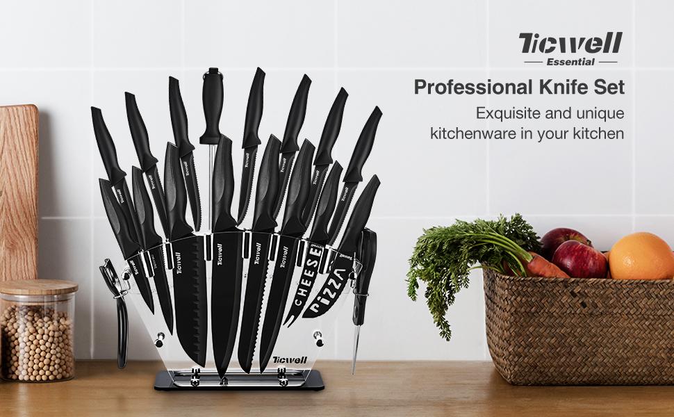TICWELL Professional  Knife Set
