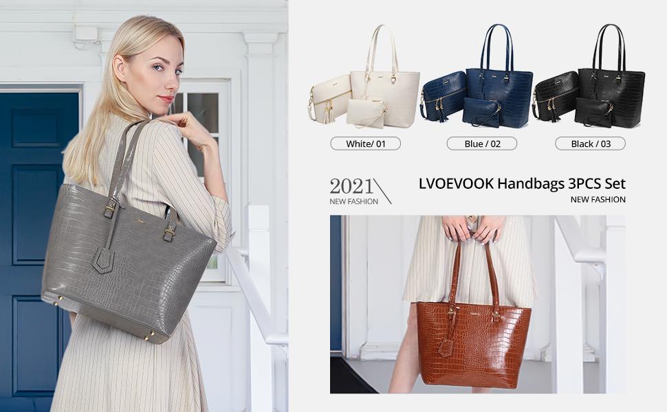 Handtaschen Damen 3 in 1 set