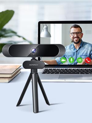 webcam with tripod
