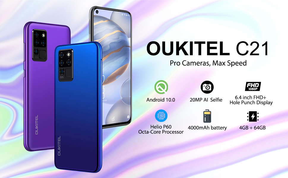 OUKITEL C21 Unlocked Cell Phones