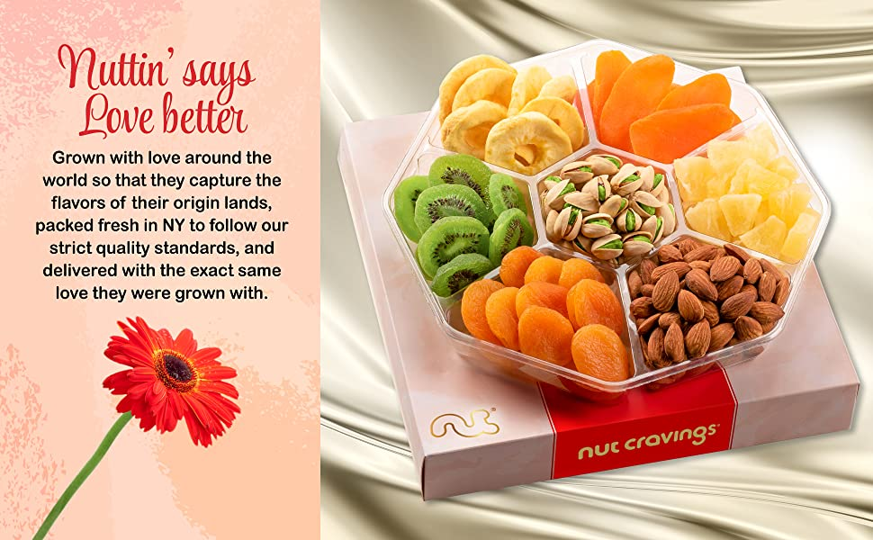 Red Box Nuts Tray the perfect gift