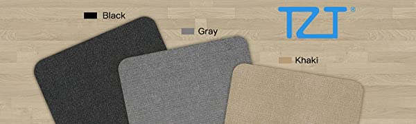 TZT Chair Mat Office Protector, 55x35inch Floor Protector Mat, Three Colors to Choose From