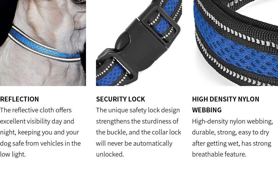 blue dog collar collar dog soft dog collar dog collar for puppiesbasic dog collars cute dog