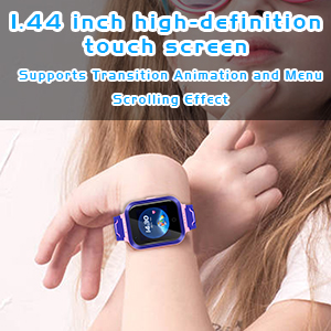 1.44 inch HD touch screen