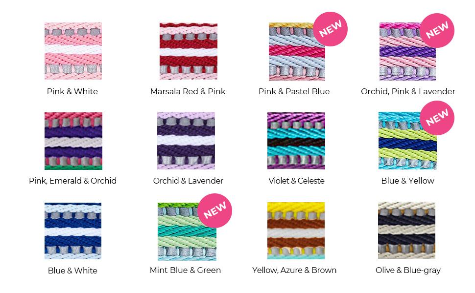 multi-colored stripe collection - 4