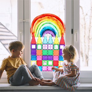 This magnetic toys ensure enjoyable play and learning time