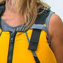 adjustable straps kayak life jacket