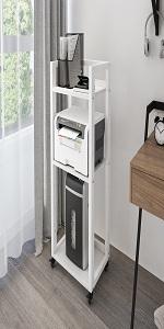 Printer Stand B-White