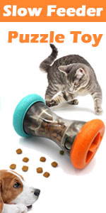 Slow Feeder Toy for Small Dog Treat Dispensing Snack Puzzle Toy
