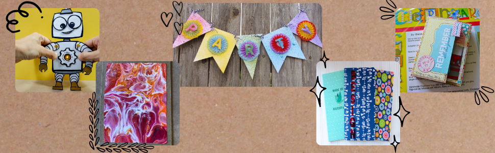 various chipboard crafts