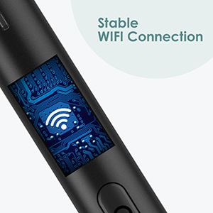Stable WIFI connection for ear endoscope