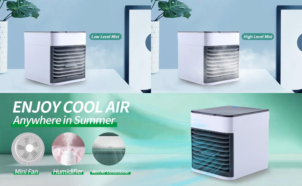 Enjoy Cool Air, Anywhere in Summer
