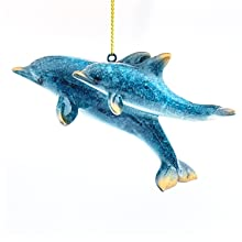 dolphin gifts for her Christmas nautical ornaments ocean