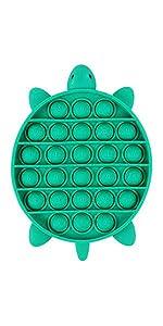 Push Pop Bubble Sensory Fidget Toy Turtle