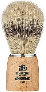 KENT VS70 Pure Badger Bristle Shaving Brush