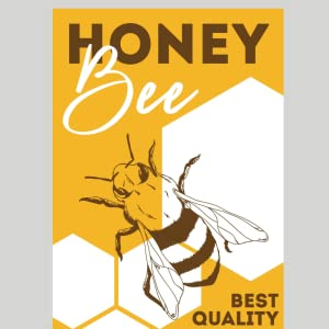 Raw Honey Bee