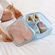 shoes bag packing organizers