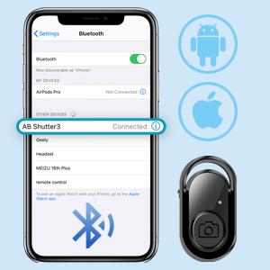 Bluetoothシャッター 遠隔操作