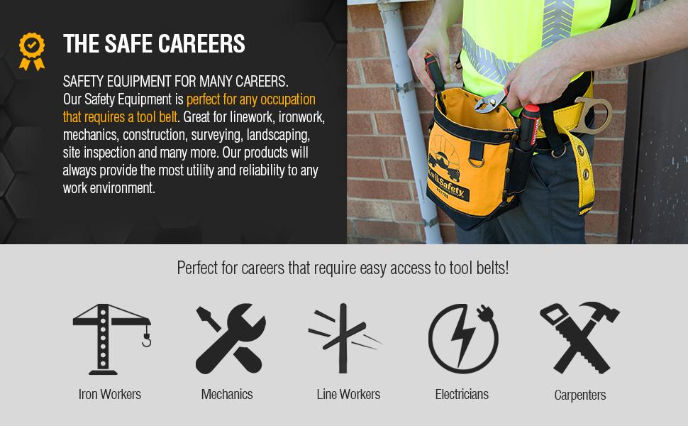 rod graintex tools pouches bags storage carpintero kliens scaffold black small construction