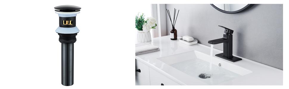 bathroom sink drain strainer
