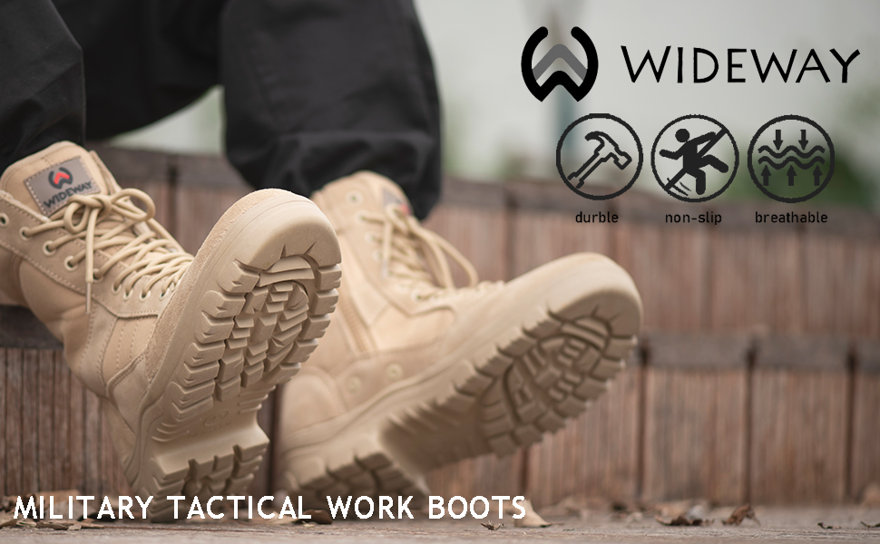 Military Tactical Work Boots