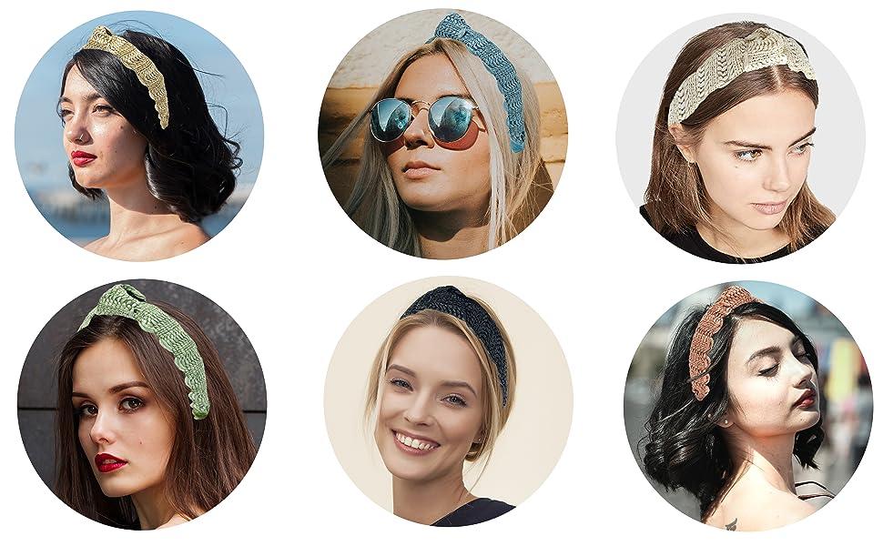 rattan headbands