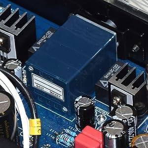 バランス段に挿入した音量調整ボリューム