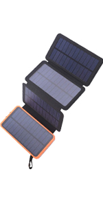 solar charger 4 pannels